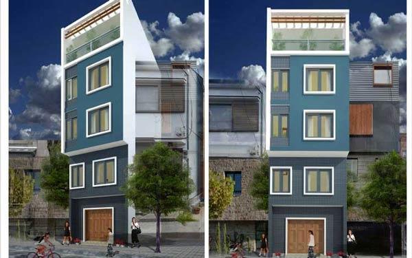 Bí quyết thiết kế nhà nghỉ 5 tầng đẹp mang lại lợi nhuận cao