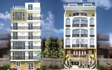 Thiết kế nhà nghỉ 7 tầng mái bằng: Xu hướng phổ biến ở thành thị
