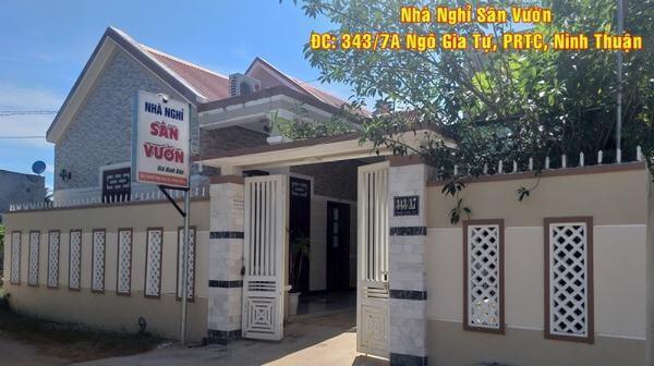 Nhà nghỉ ở Ninh Thuận luôn thu hút khách lưu trú