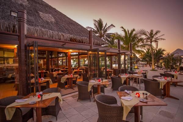 thiết kế resort khu nhà hàng