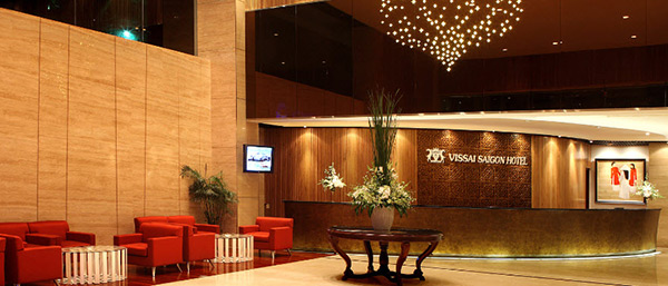 Hình ảnh tiền sảnh khách sạn đẹp