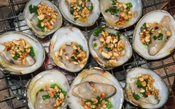 Vọp nướng món ăn dân giã, thơm ngon đặc trưng của xứ Cà Mau