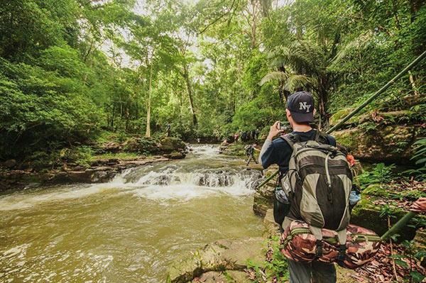 Băng rừng, lội suối