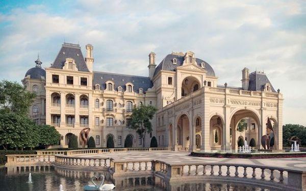 Tư vấn xây khách sạn cổ điển 5 sao đẹp như ở Pháp