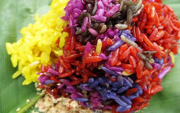 Xôi đăm đeng màu sắc: Nét đẹp văn hóa ẩm thực của người Tày