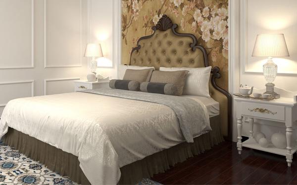 Nghệ thuật trang trí giường ngủ khách sạn: Chạm mắt là ưng