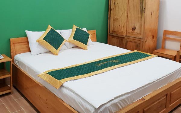 Tấm trang trí giường mang đến vẻ đẹp nổi bật và ấn tượng cho không gian