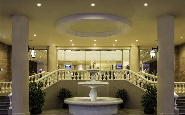 Sảnh đón tiếp của khách sạn cần tạo ấn tượng cho khách hàng