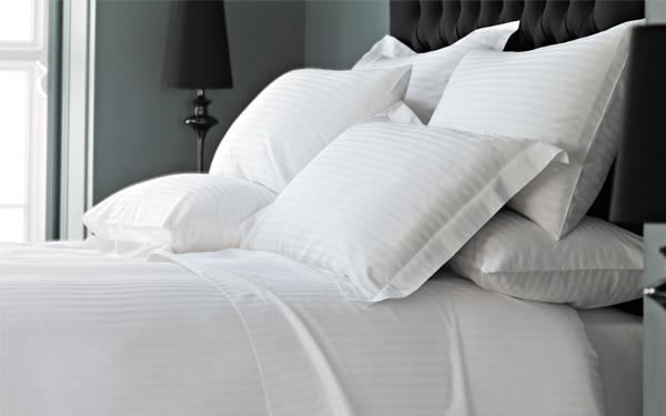 Tông màu trắng luôn được các khách sạn ưu tiên sử dụng