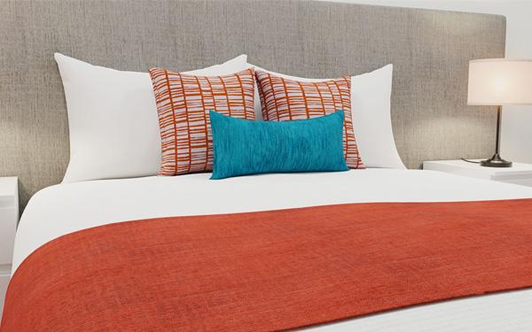 Chất liệu vải cao cấp mang đến sự thoải mái cho khách hàng (Hotel Home)