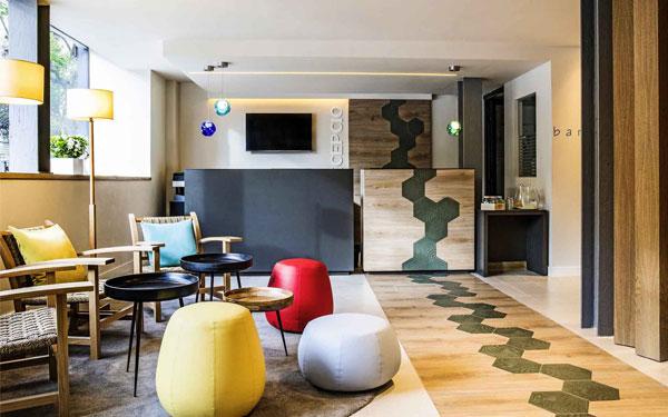 Nội thất khách sạn 2 sao độc đáo và được trang trí ấn tượng (Accor Hotels)