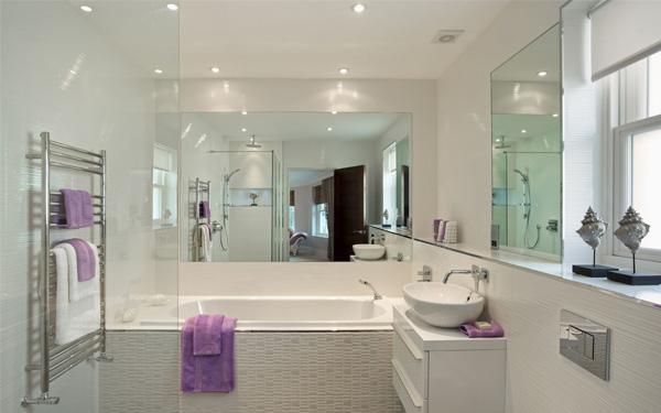 Nội thất phòng tắm tiện nghi và đảm bảo sự thoải mái cho khách hàng