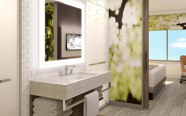Mỗi phòng ngủ của khách sạn 1 sao cần có phòng vệ sinh riêng