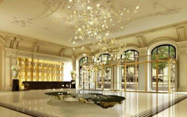 Tập hợp các thiết kế nội thất khách sạn được yêu thích hiện nay