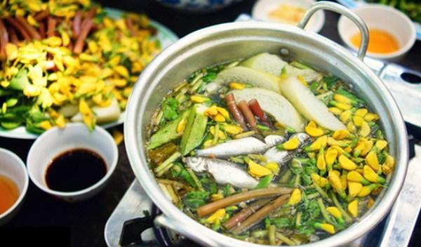 Món canh cá đặc trưng của vùng An giang