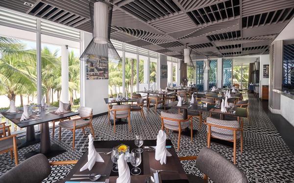 Hệ thống nhà hàng thiết kế đường nét hiện đại tại Premier Village Danang Resort