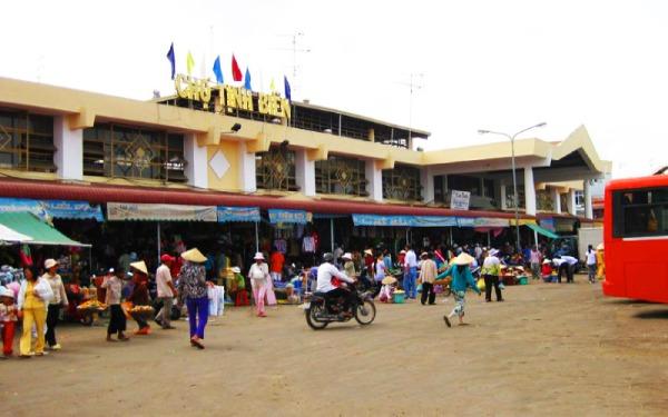 Chợ Tịnh Biên: Thiên đường mua sắm của du khách khi đến An Giang
