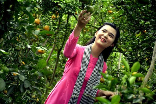 Du khách tận tay hái trái cây tại miệt vườn