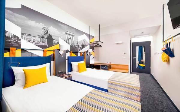 Điểm danh phiên bản thiết kế phòng ngủ khách sạn 3 sao đẹp mắt