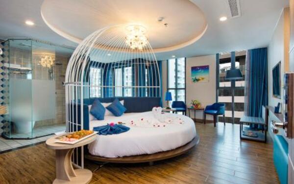 Thiết kế giường ngủ theo mô hình lồng chim độc đáo