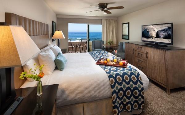 Phòng ngủ cao cấp sở hữu phong cảnh biển lãng mạn