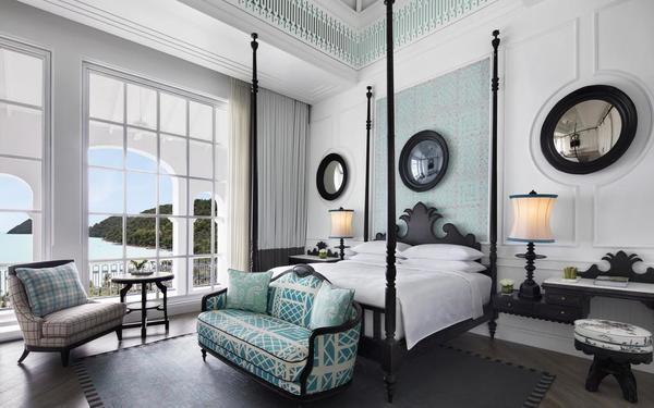 Kiến trúc sắc sảo trong từng đường nét của phòng ngủ JW Marriott Phu Quoc Emerald Bay Resort