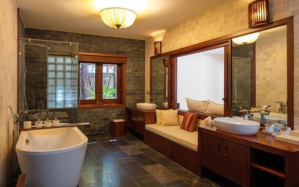 Trang bị nội thất tiện nghi khoa học của phòng tắm An Lâm Saigon River