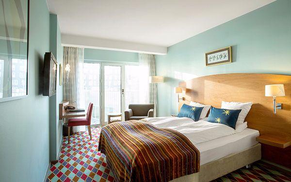 Phòng ngủ với những gam màu hài hòa mát mắt người xem