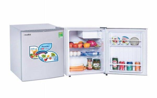Tủ lạnh mini với thiết kế nhỏ gọn, tiện lợi