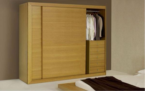 Tủ đồ quần áo với cách thiết kế tiện lợi giúp tiết kiệm diện tích