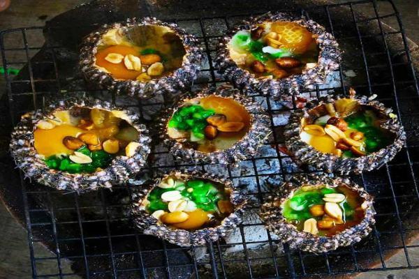 Nhum nướng mỡ hành - Món ăn đặc trưng phải ăn khi đến Phú Quốc