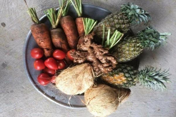 Các loại trái cây thường dùng để làm bánh