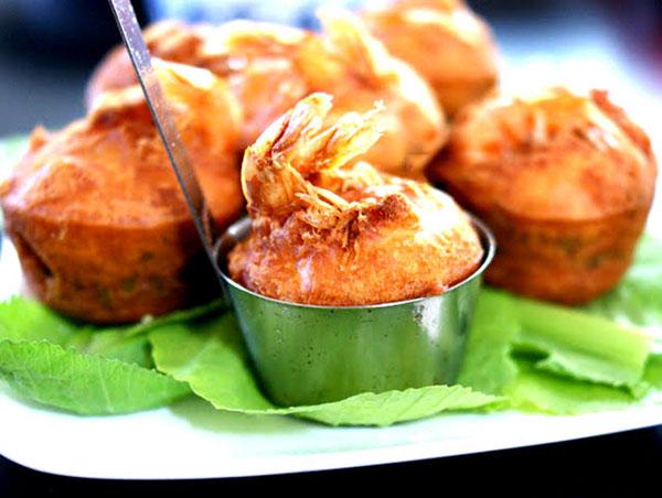 Bánh cống cần thơ - Món ăn Cần Thơ thơm ngon, nhiều người thích