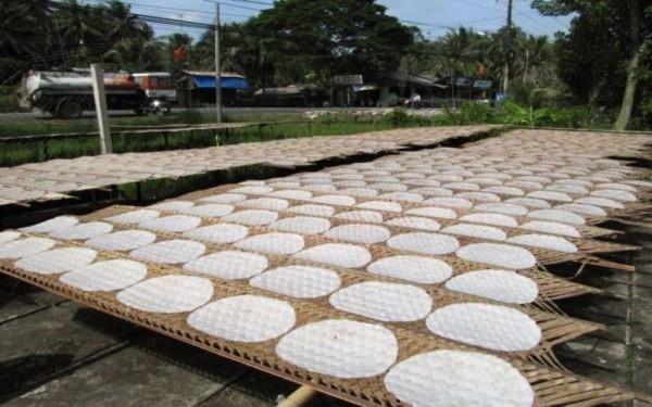 Bánh tráng Quảng Ngãi dẻo thơm bình dị, vị khó quên