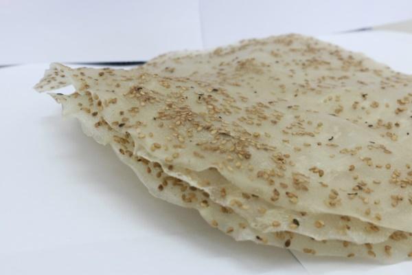 Bánh rắc vừng thường dùng để nướng giòn