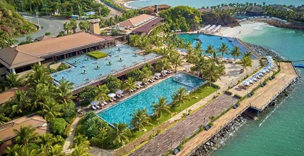 bể bơi resort đẹp