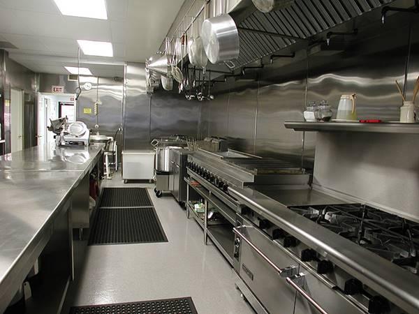 thiết kế bếp khách sạn 3 sao