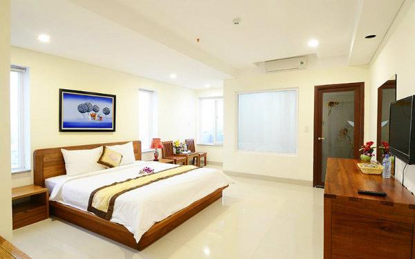 Có khá nhiều khách sạn giá rẻ, phòng tiện nghi tại Quất Lâm