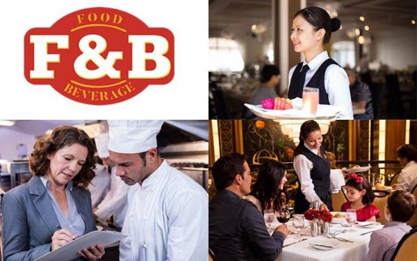 Những điều tổng quan cần biết về bộ phận ẩm thực trong khách sạn