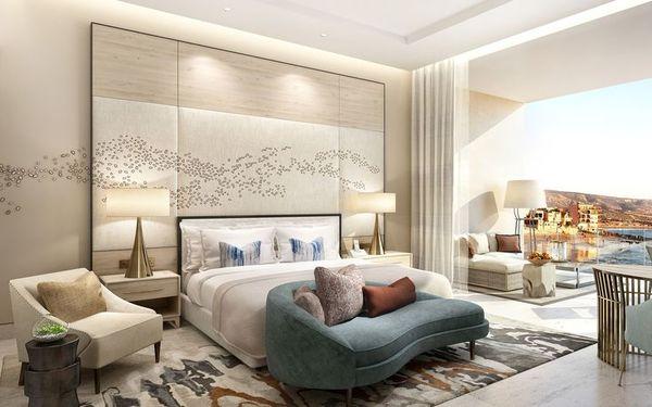 Phòng ngủ cao cấp tràn ngập ánh sáng với không gian mở