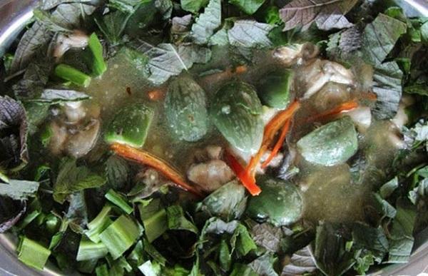 Lươn ếch um cà đắng mang theo tinh hoa nắng gió trên cao nguyên