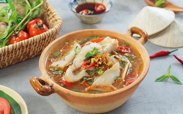 Hương vị đặc trưng của cá tầm nấu măng nếu được ăn một lần sẽ nhớ mãi không quên