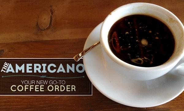 Nguồn gốc của lyCafé Americano