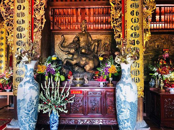 Chính điện của ngôi chùa