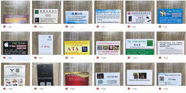 Contact nhà cung cấp Trung Quốc