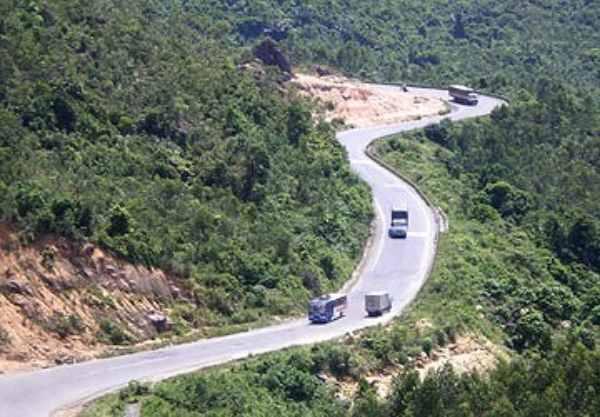 Con đường đến đèo cả Phú Yên