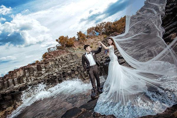 Thậm chí các cặp đôi còn đến đây để chụp ảnh cưới