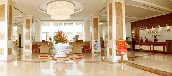 Tiêu chuẩn kích thước quầy lễ tân khách sạn