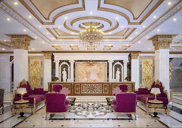 Thông tin mới nhất về mẫu kiến trúc khách sạn 7 tầng hot nhất hiện nay
