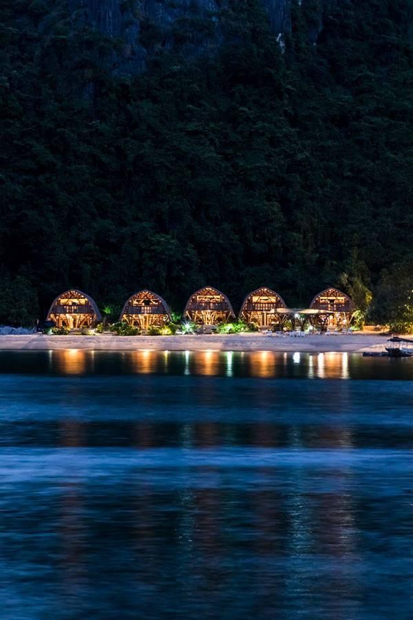 kiến trúc resort đẹp lạ